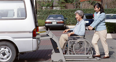 介護タクシーのイメージ